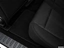 2018 Ford F-150 XL, rear driver's side floor mat. mid-seat level from outside looking in.
