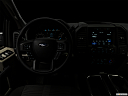 "2018 Ford F-150 XL, centered wide dash shot - ""night"" shot."
