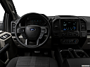 2018 Ford F-150 XL, steering wheel/center console.
