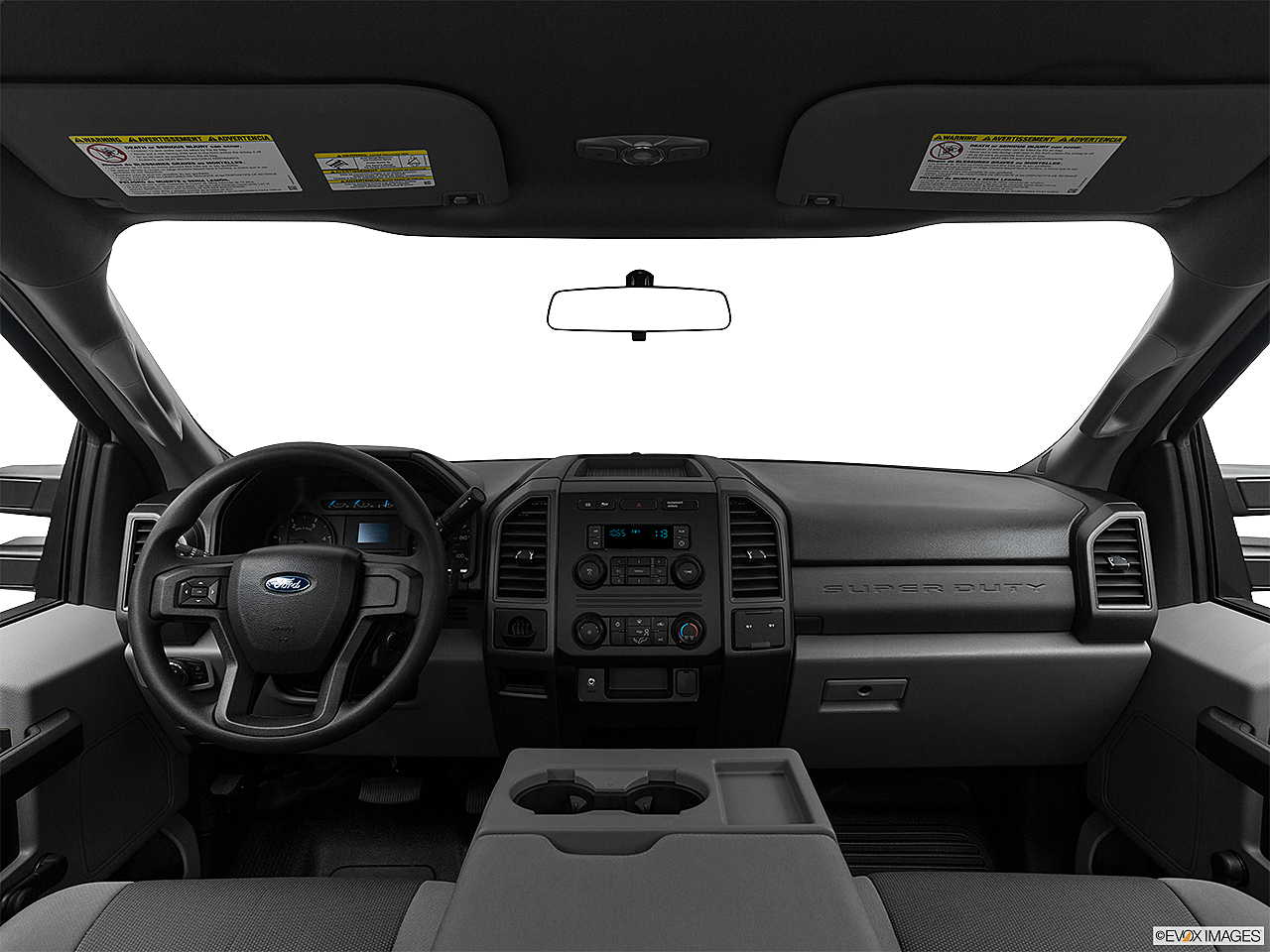 2018 Ford F-250 SD XL, centered wide dash shot