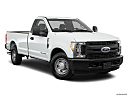 2018 Ford F-250 SD XL, front passenger 3/4 w/ wheels turned.