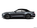 2018 Ford Mustang ECOBOOST, drivers side profile, convertible top up (convertibles only).