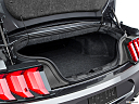 2018 Ford Mustang ECOBOOST, trunk open.