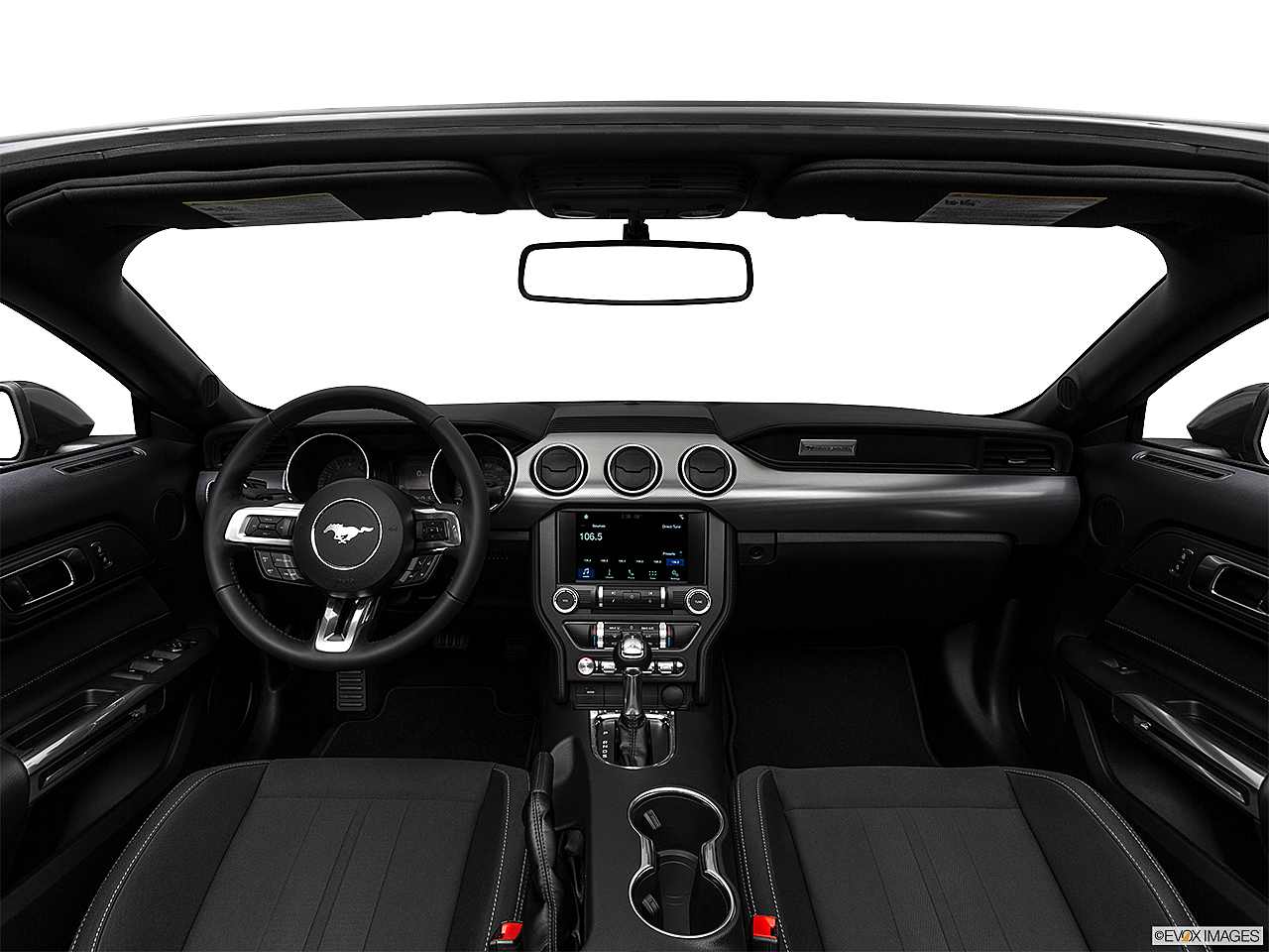 2018 Ford Mustang ECOBOOST, centered wide dash shot