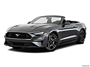 2018 Ford Mustang ECOBOOST, front angle medium view.