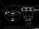 "2018 Ford Mustang ECOBOOST, centered wide dash shot - ""night"" shot."