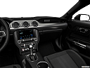 2018 Ford Mustang ECOBOOST, center console/passenger side.