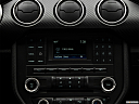 2018 Ford Mustang ECOBOOST, closeup of radio head unit
