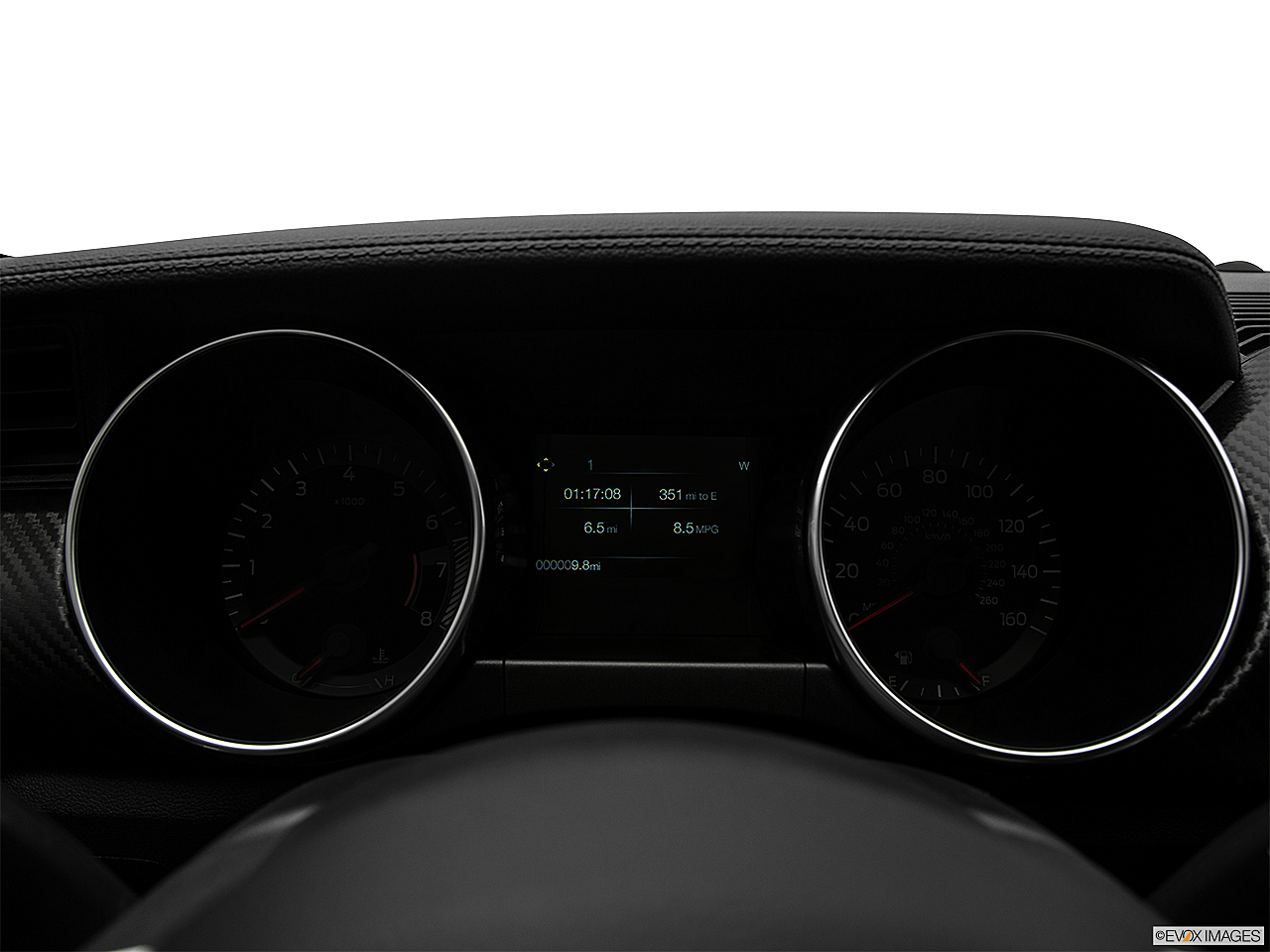 2018 Ford Mustang ECOBOOST, speedometer/tachometer.