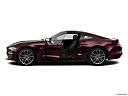 2018 Ford Mustang GT Premium, driver's side profile with drivers side door open.