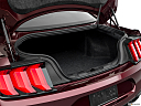 2018 Ford Mustang GT Premium, trunk open.