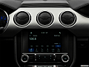 2018 Ford Mustang GT Premium, closeup of radio head unit