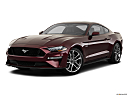 2018 Ford Mustang GT Premium, front angle medium view.