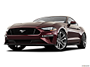 2018 Ford Mustang GT Premium, front angle view, low wide perspective.
