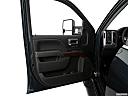 2018 GMC Sierra 1500 SLE, inside of driver's side open door, window open.