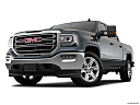 2018 GMC Sierra 1500 SLE, front angle view, low wide perspective.