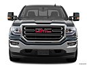 2018 GMC Sierra 1500 SLE, low/wide front.