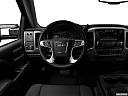 2018 GMC Sierra 1500 SLE, steering wheel/center console.