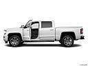 2018 GMC Sierra 1500 Denali, driver's side profile with drivers side door open.