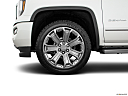 2018 GMC Sierra 1500 Denali, front drivers side wheel at profile.