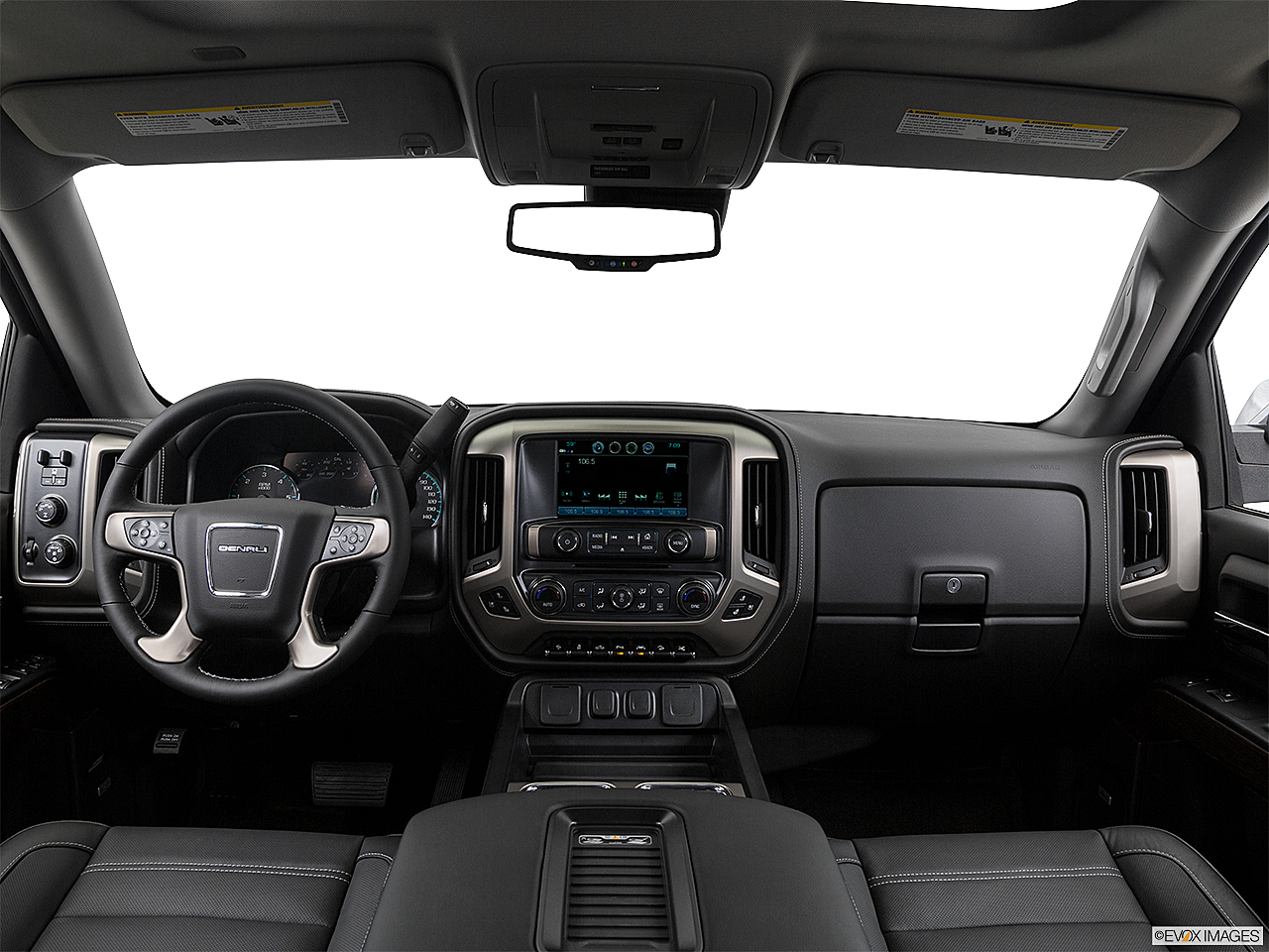 2018 GMC Sierra 1500 Denali, centered wide dash shot