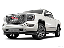 2018 GMC Sierra 1500 Denali, front angle view, low wide perspective.
