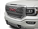 2018 GMC Sierra 1500 Denali, close up of grill.
