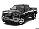 2018 GMC Sierra 1500 SLE, front angle view.