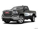 2018 GMC Sierra 1500 SLE, front angle medium view.