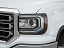 2018 GMC Sierra 1500 SLE, drivers side headlight.