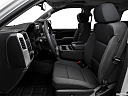 2018 GMC Sierra 1500 SLE, front seats from drivers side.