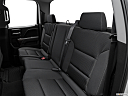 2018 GMC Sierra 1500 SLE, rear seats from drivers side.