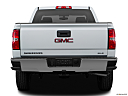 2018 GMC Sierra 1500 SLE, low/wide rear.