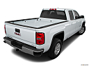 2018 GMC Sierra 1500 SLE, rear 3/4 angle view.