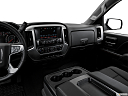 2018 GMC Sierra 1500 SLE, center console/passenger side.