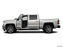 2018 GMC Sierra 1500 SLT, driver's side profile with drivers side door open.