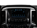 2018 GMC Sierra 1500 SLT, closeup of radio head unit
