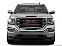 2018 GMC Sierra 1500 SLT, low/wide front.