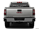 2018 GMC Sierra 1500 SLT, low/wide rear.
