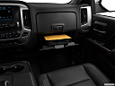 2018 GMC Sierra 1500 SLT, glove box open.