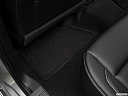2018 GMC Sierra 1500 SLT, rear driver's side floor mat. mid-seat level from outside looking in.