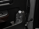 2018 GMC Sierra 1500 SLT, second row side cup holder with coffee prop, or second row door cup holder with water bottle.