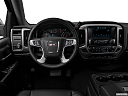 2018 GMC Sierra 1500 SLT, steering wheel/center console.