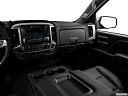 2018 GMC Sierra 1500 SLT, center console/passenger side.