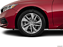 2018 Honda Accord LX, front drivers side wheel at profile.