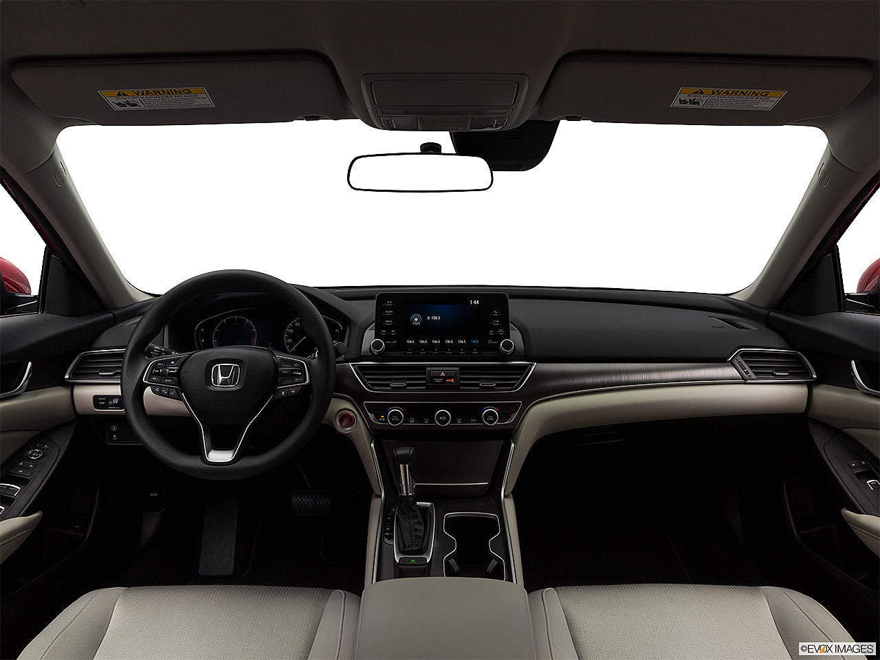 2018 Honda Accord LX, centered wide dash shot