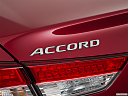 2018 Honda Accord LX, rear model badge/emblem