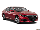 2018 Honda Accord LX, front passenger 3/4 w/ wheels turned.