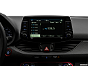 2018 Hyundai Elantra GT Sport, closeup of radio head unit