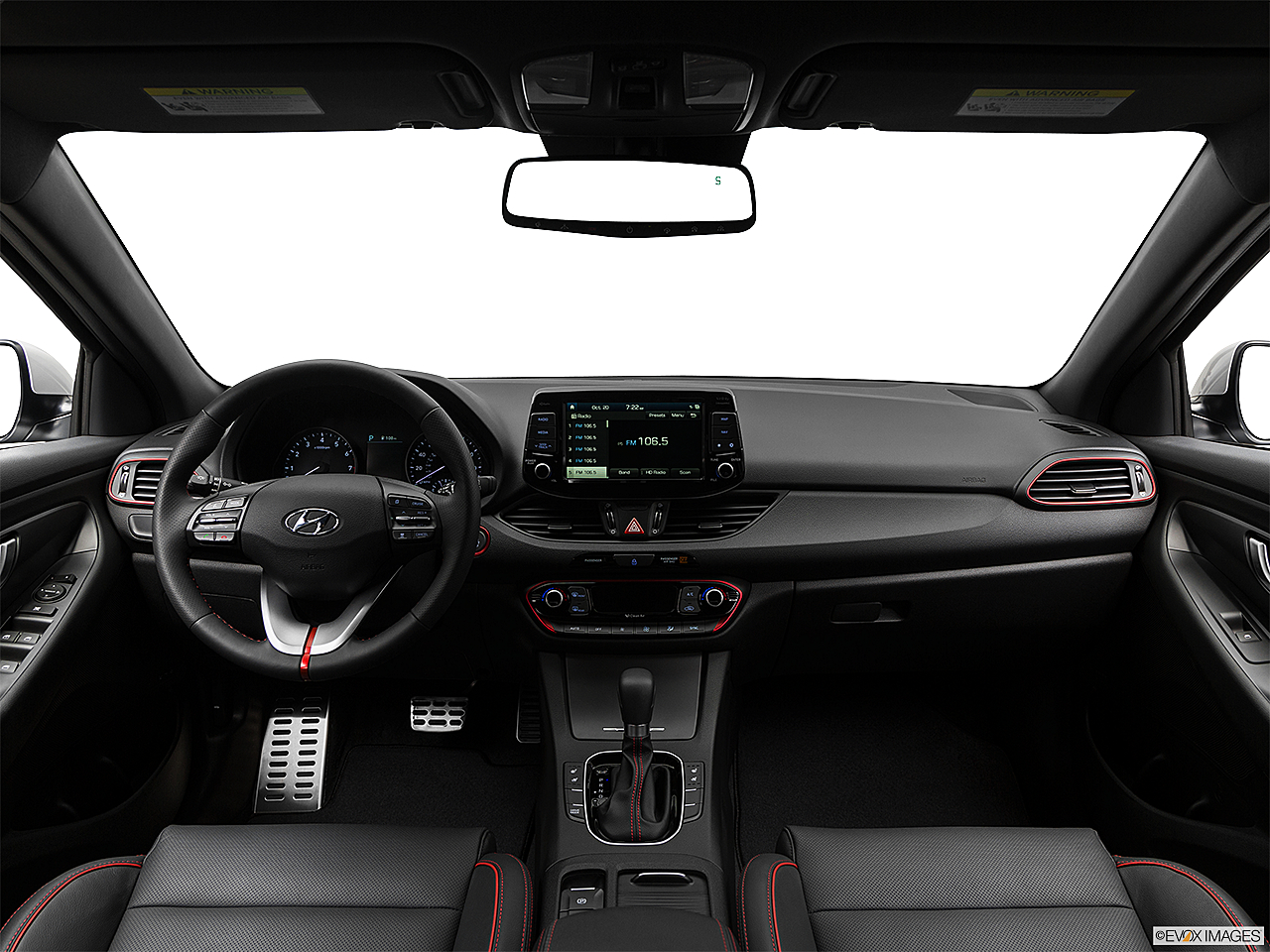 2018 Hyundai Elantra GT Sport, centered wide dash shot